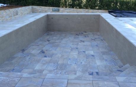 piscine carrelée